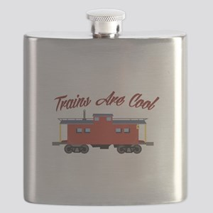 Trains Are Cool Flask