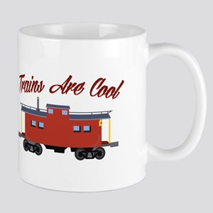 Trains Are Cool Mugs