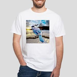 Blue Jay Sunrise T-Shirt