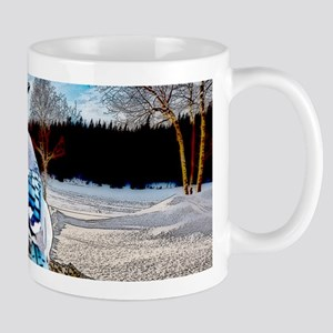 Blue Jay Sunrise Mugs