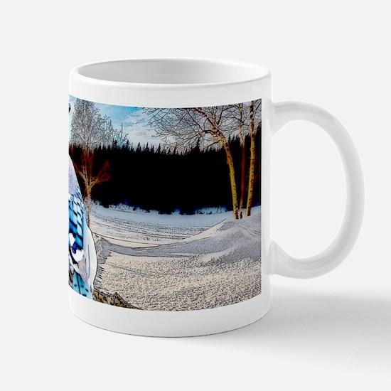 Blue Jay Sunrise Mugs