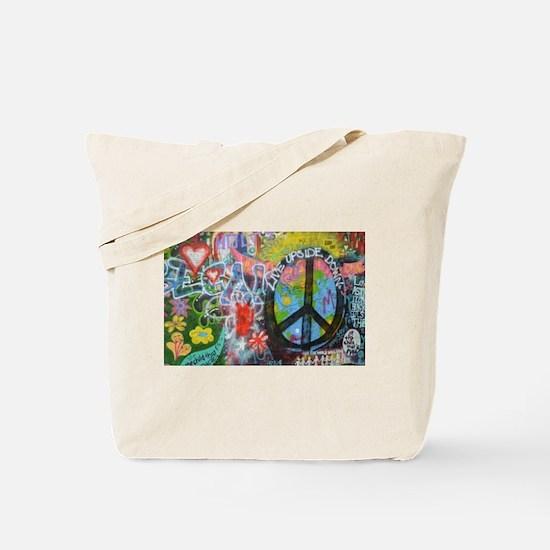 Cute Mural Tote Bag