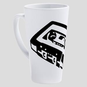 Audio Cassette 17 oz Latte Mug