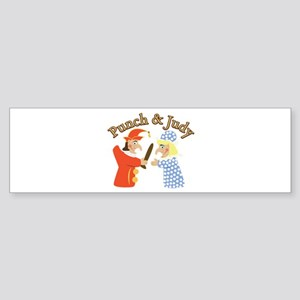 Punch & Judy Bumper Sticker