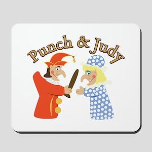 Punch & Judy Mousepad