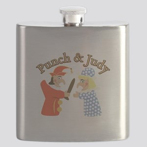 Punch & Judy Flask