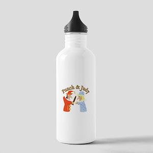 Punch & Judy Water Bottle