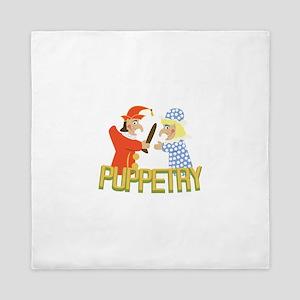 Puppetry Queen Duvet