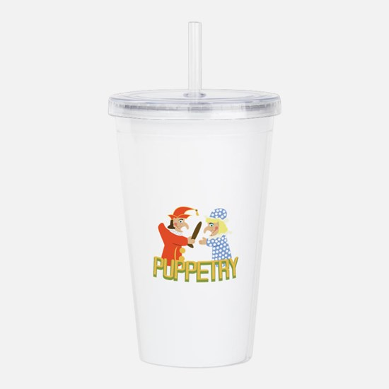 Puppetry Acrylic Double-wall Tumbler