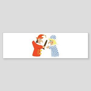 Punch & Judy Bumper Sticker