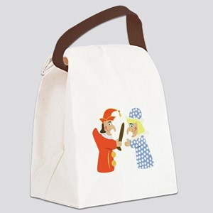 Punch & Judy Canvas Lunch Bag