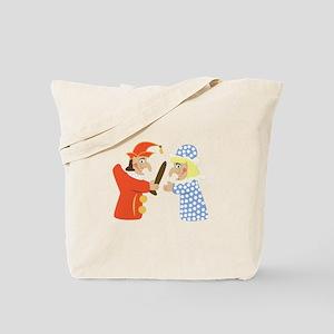 Punch & Judy Tote Bag