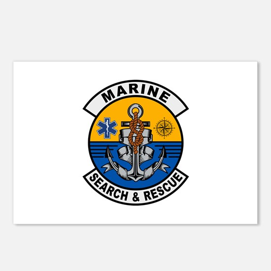 Marine Search and Rescue Postcards (Package of 8)