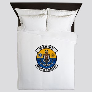 Marine Search and Rescue Queen Duvet