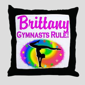 GYMNAST DREAM Throw Pillow