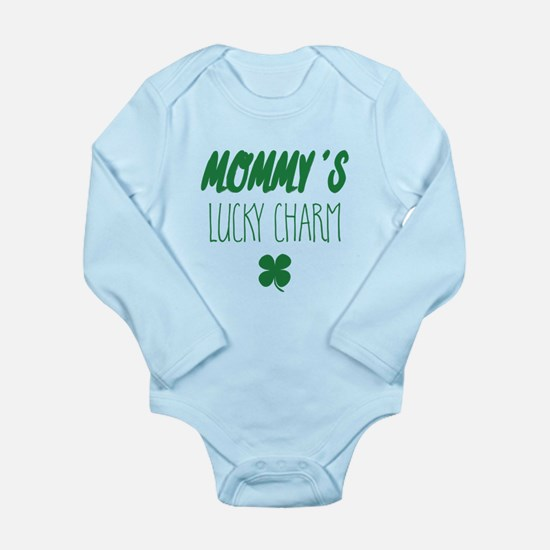 St. Patrick's Day Mommy's Lucky Charm Body Suit
