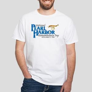 75 years: Pearl Harbor White T-Shirt