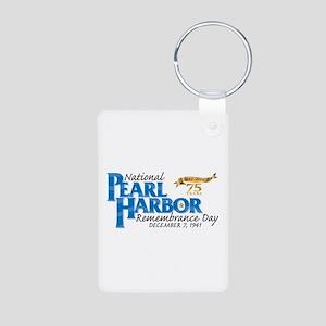 75 Years: Pearl Harbor Aluminum Photo Keychains