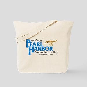 75 years: Pearl Harbor Tote Bag