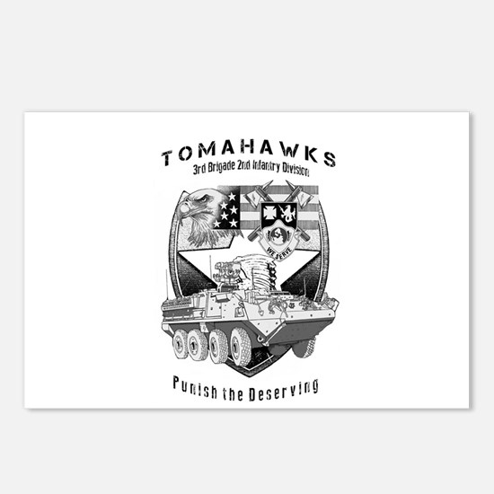 Tomahawks Postcards (Package of 8)