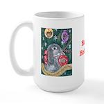 Rabbit Christmas Large Mug
