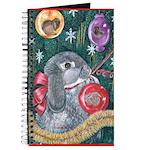Rabbit Christmas Journal