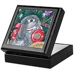 Rabbit Christmas Keepsake Box