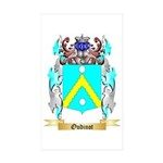 Oudinot Sticker (Rectangle 50 pk)