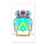 Oudinot 20x12 Wall Decal