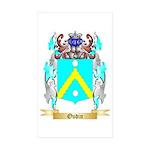 Oudin Sticker (Rectangle 10 pk)