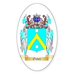 Oudet Sticker (Oval)