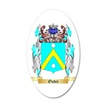 Oudet 20x12 Oval Wall Decal