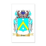 Oudet 20x12 Wall Decal