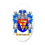 O'Tuohy Oval Car Magnet