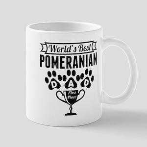 World's Best Pomeranian Dad Mugs