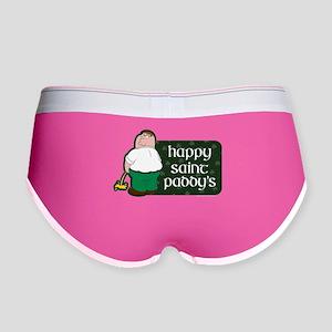 Family Guy Happy Paddy's Women's Boy Brief