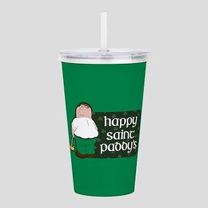 Family Guy Happy Paddy Acrylic Double-wall Tumbler