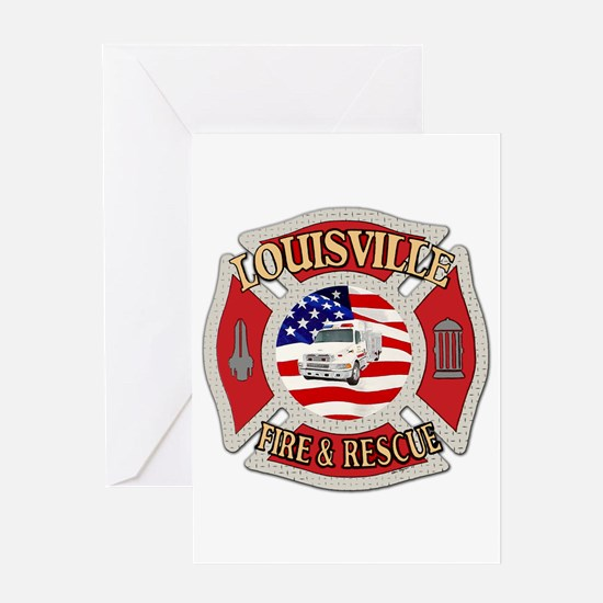 Louisville VFD Greeting Card