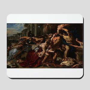 Peter Paul Rubens's Massacre of the Inno Mousepad