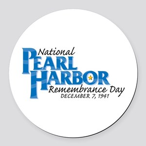 Remembrance Day Round Car Magnet