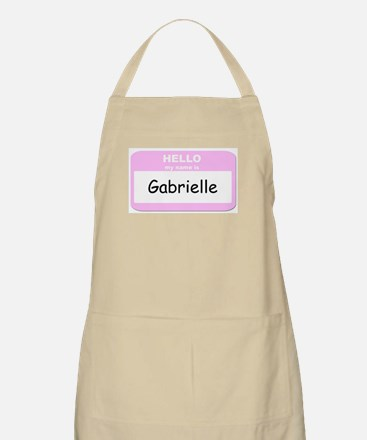 My Name is Gabrielle BBQ Apron