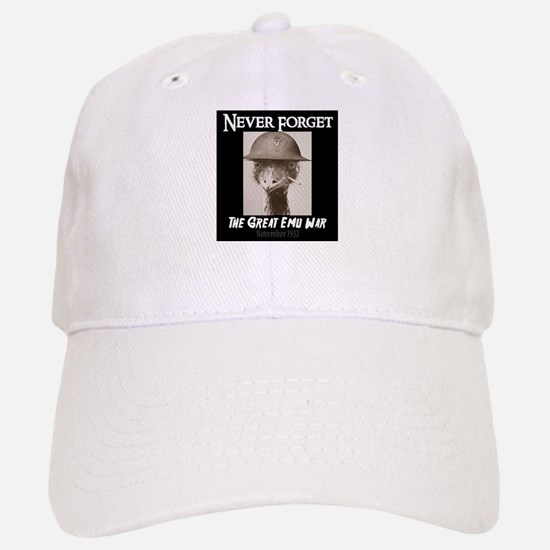 Never Forget- The Great Emu War Baseball Baseball Cap