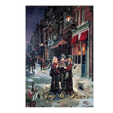 Christmas Carol Singers Postcards (Package of 8)