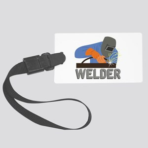 Welder Luggage Tag