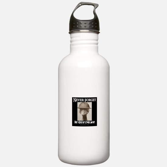 Never Forget- The Grea Water Bottle