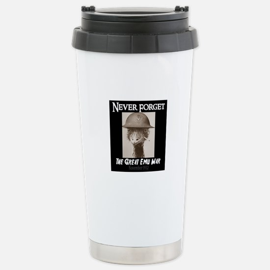 Never Forget- The Great Stainless Steel Travel Mug