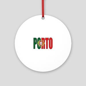 Porto Round Ornament