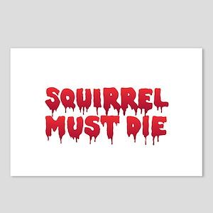 Squirrel Must Die Postcards (Package of 8)