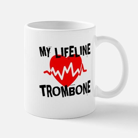 My Lifeline trombone Music Mug