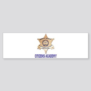 Maricopa Sheriff Citizens Academy Bumper Sticker